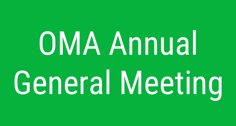 OMA Annual General Meeting