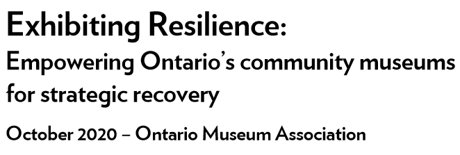 Title image of the OMA's white paper Exhibiting Resilience