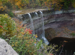 The Lower Falls at  Ball's Falls Conservation Area