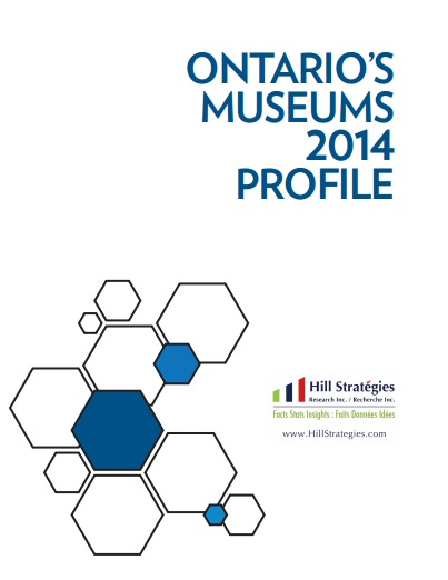 Ontario's Museums 2014 Profile Cover