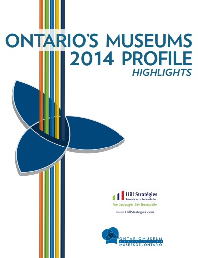Ontario Museums 2014 Profile Highlights Cover
