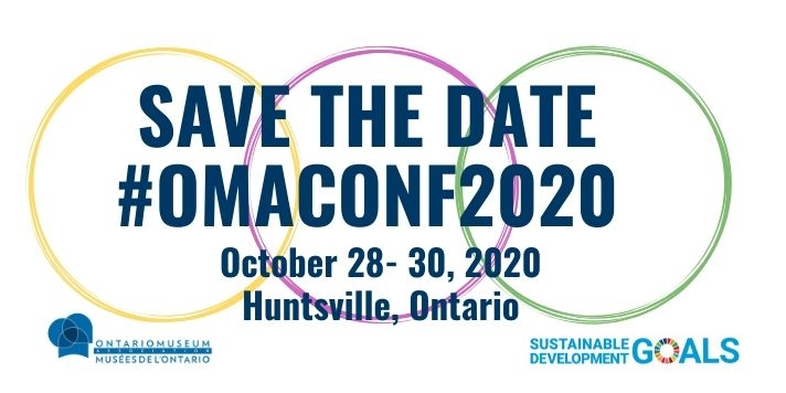 SAVE THE DATE #OMAConf2020 in Huntsville Ontario