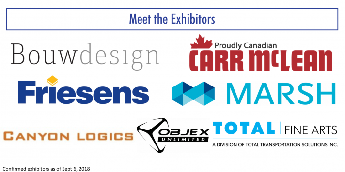 Meet the exhibitors: Bouw Design, Carr McLean, Friesens, Marsh, Canyon Logics, Objex Unlimited, Total Transporation
