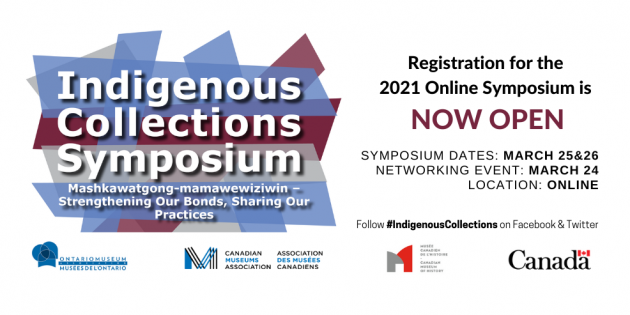 Indigenous Collections Symposium 2021 Registration Now Open