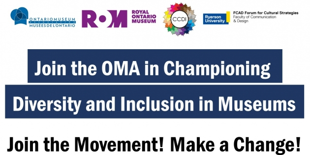 Join the OMA in Championing Diversity and Inclusion in Ontario Museums!