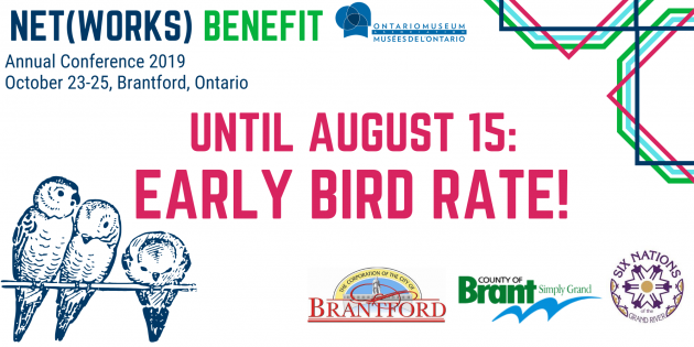 Register Now: Early Bird Rate, for the OMA Conference 2019: Net[works] Benefit