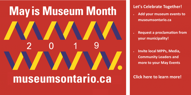 May is Museum Month! Click here to see all the ways to get involved
