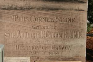 The Corner Stone at Wolseley Barracks
