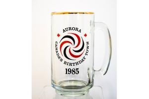 Aurora Canada's Birthday Town Stein/Mug – 1985