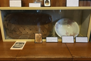 Basket that held the Dionne Quintuplets