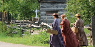 Interpreters at Upper Canada Village