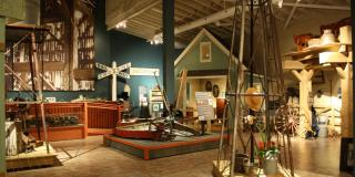 Main gallery showing artifacts from the past 150 years of Waterford's history