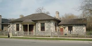 McDougall Cottage Historic Site, western facade