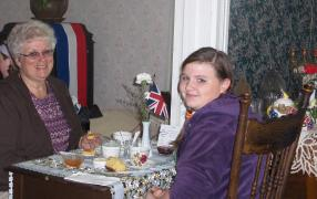 Victorian Tea event