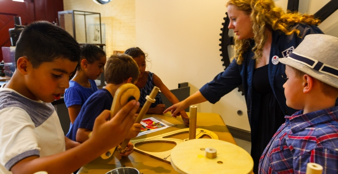 Hands-on science at the Steam Museum